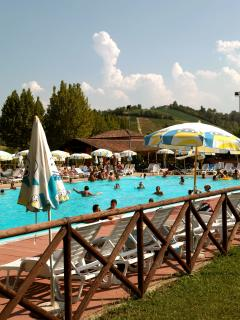 Mombercelli Public Pool, 3 mins drive from house