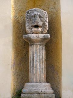 Pre-Roman lion's head