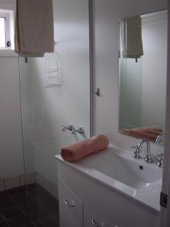 Shower room and separate toilet