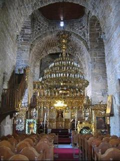 One of the beautiful sites to visit in Larnaca - St Lazarus church