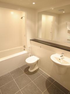 modern fresh bathroom