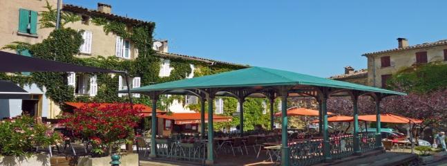 Main square in the village