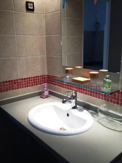 Vasque de salle de bain 'BAMBOU'