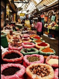 market shuk Mahane Yehuda