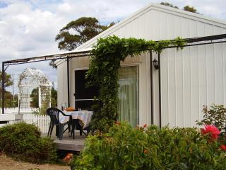 More than another 'Australian Shed'. A fully self containded cottage hidden inside