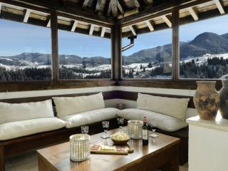 Deluxe ski chalet indoor pool, Gela
