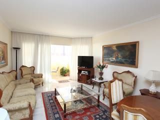 Lounge with Sunny Balcony