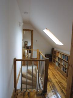 Upstairs landing gives access to the 2 bedrooms