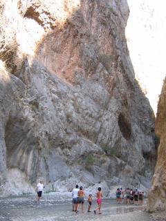 Scenic Saklikent Gorge