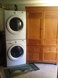 Washer and Dryer for Added Convenience