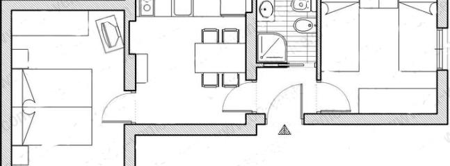 The map of the apartment