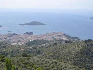 View of the town from the Platanos restaurant