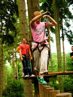 Hang around at Go Ape - goto 5* Portland House 1870