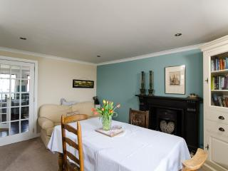 The Dining Room with a double sofa bed, in addition to the upstairs double and twin bedrooms