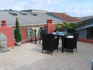 Enjoy al-fresco dining on the superb terrace
