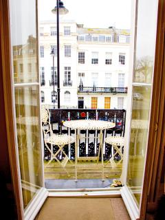 The Balcony overlooking Portland Place