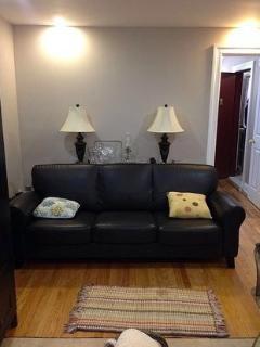 living room w/ sleeper sofa