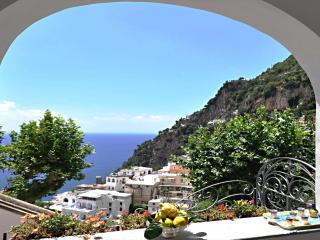 Apartment in Villa,  Positano center - WiFi free - A/C free - 2 Bedr, 2Baths,