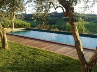 Casa con piscina con vista sui vigneti, San Miniato