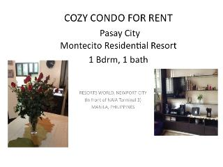 Condo at  Resorts World, Pasay, Manila Philippines