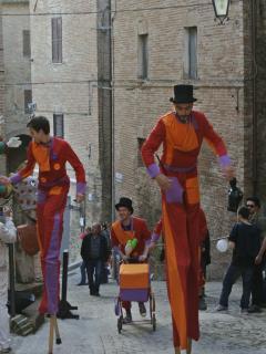 Sarnano centro storico 'Festa dei Folli a Maggio'