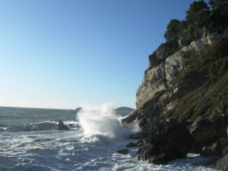 Mareggiata a Punta Corvo