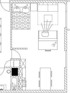 Apartment Bor - floorplan