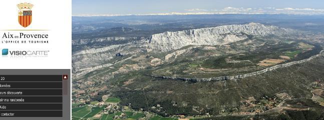 Organisez vos randonnées sur le site de la montagne Sainte-Victoire/Organize your trips to the site