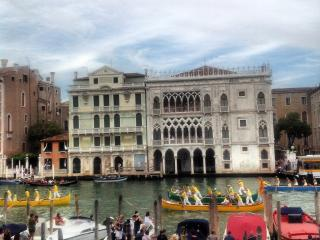 Venice Gran Canal view Ca d'oro., City of Venice
