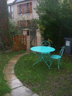 Petit jardin privé