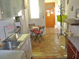 la cuisine et l'entrée