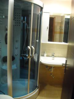 Shower jacuzzi