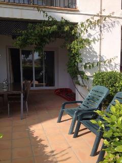 Sunny Private Terrace Garden