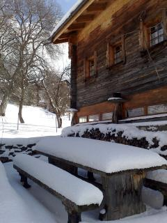 The Stadel / Chalet with secure snow from December onwards...