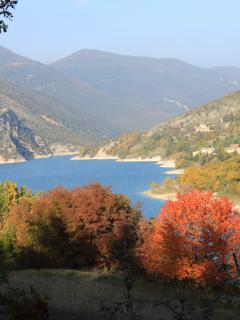 Lago di Fiastra in Autumn