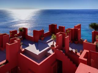 3bdr Seafront Apartment in Calpe, La Muralla Roja