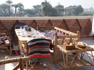 Delicious breakfasts served to you on roof terrace at your convenience