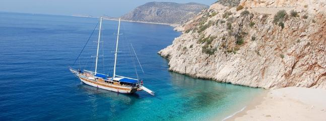 Kaputas beach just 15 minutes from Kalkan