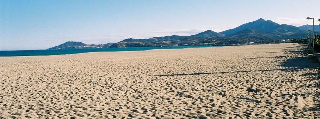 Beach at Argeles-sur-Mer