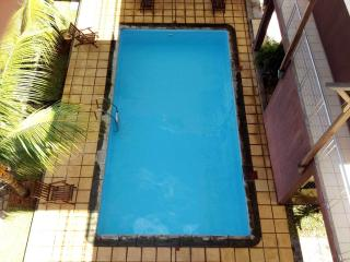A truly tempting dive indeed, the immaculate swimming pool is all yours for most of the time