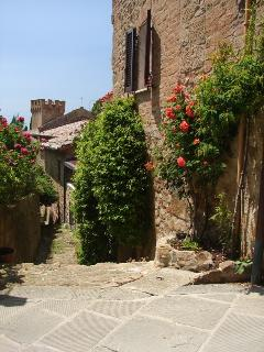 Montichiello in the Val D'Orcia