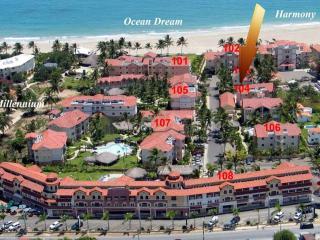OCEAN DREAM PHASE 4 Luxury 2/2 Beachfront, Cabarete
