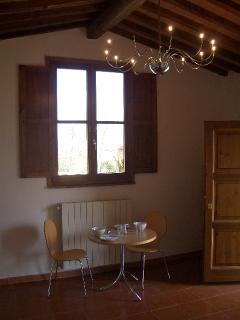 The kitchen dining area