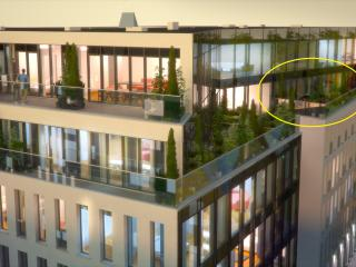 Center of Tallinn, ultramodern, brand new, 27m2 te