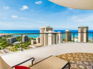 2bed/2bath Waikiki Vacation Rental at Canterbury Place, Honolulu