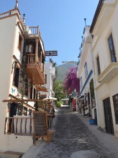 Quaint narrow streets to explore!