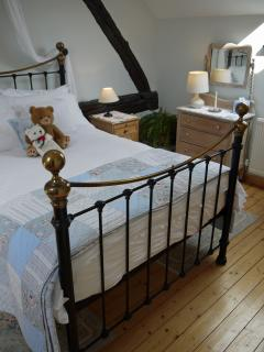 Croft House Barn double bedroom - so much more than the bear necessities!