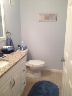 Half Bath off the Master Bedroom