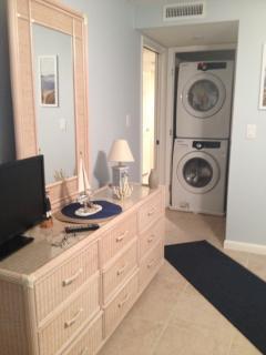 Master Bedroom--TV in room on dresser
