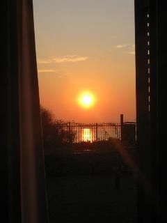 alba dall'appartamento